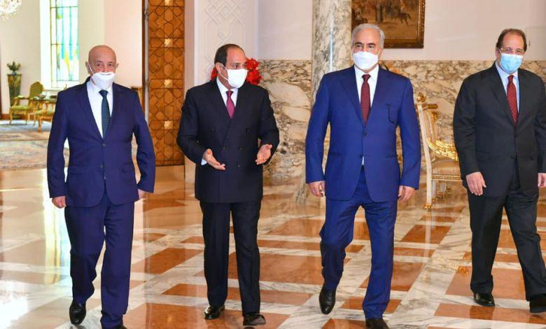 السيسي -حفتر- صالح