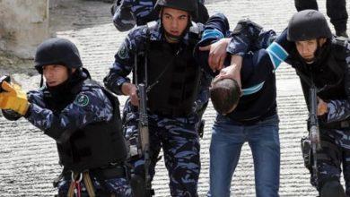 السلطة الفلسطينية الاعتقالات السياسية