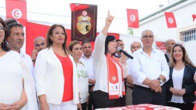 صورة تدهور في شعبية النهضة الإخونجية لصالح الدستوري الحر في تونس