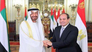 صورة مصر والإمارات تناقشان عدداً من القضايا الإقليمية