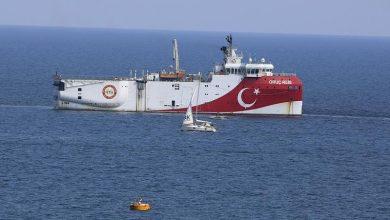 صورة واشنطن وباريس وبرلين تطلب من النظام التركي وقف الإستفزازات في شرق المتوسط
