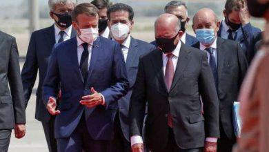 ماكرون في بغداد