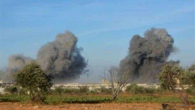 Photo de Affrontements entre le régime syrien et le groupe terroriste EI