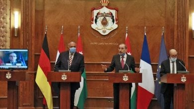 Photo de Amman: Une réunion pour discuter du processus de paix au Moyen-Orient