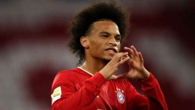 Photo of Bayern star Sane 'a little sorry' to thrash former side Schalke by eight goals