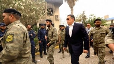 Photo de Fayez al-Sarraj a l'intention de quitter son poste avant fin octobre