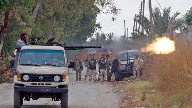 صورة اشتبكات مسلحة بين ميليشيات السراج في العاصمة الليبية طرابلس
