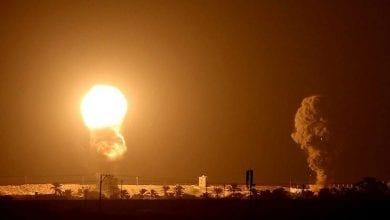 Photo of Israeli occupation warplanes strikes several sites in Gaza, no injuries