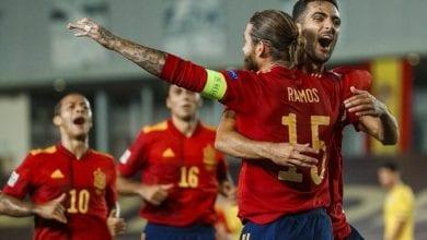 Photo de L'Espagne a battu l'Ukraine 4-0 en Ligue des nations de l'UEFA