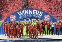 Photo of More than 15,000 fans in attendance as Bayern beat Sevilla to win UEFA Super Cup