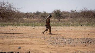 Quatre soldats maliens