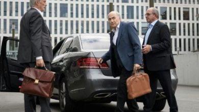 Photo de Sepp Blatter s'explique face à la justice suisse