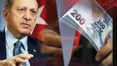Photo of Turkish lira continues its resounding decline … and records the worst