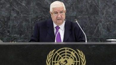 Photo de Walid Muallem: Le régime turc est dépourvu de légitimité internationale