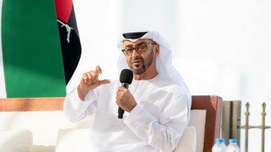 صورة ولي عهد أبو ظبي: موقف الإمارات ثابت وراسخ في دعمه للقضية الفلسطينية