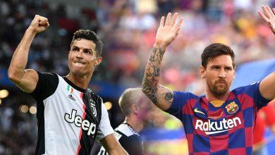 صورة رونالدو وميسي خارج قائمة المرشحين الثلاث لجائزة لاعب العام في أوروبا