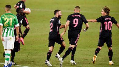 Photo de le Real Madrid bat le Bétis 3-2 en Liga