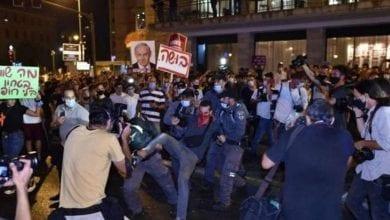 les manifestants