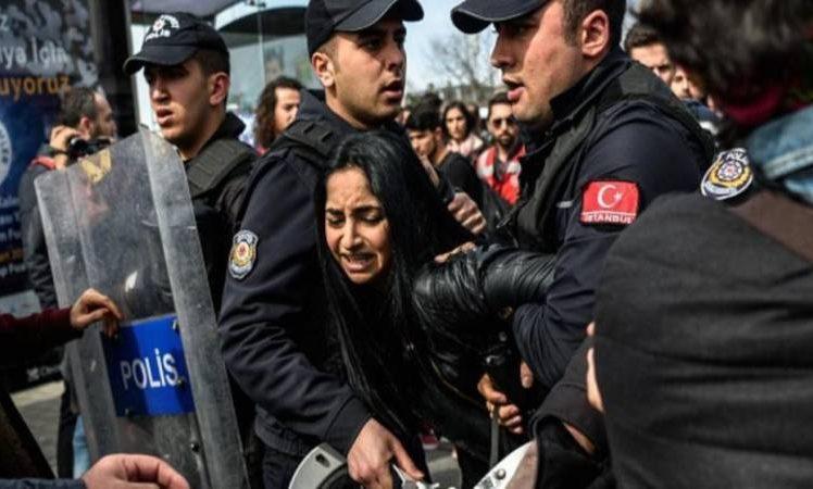 النظام التركي اعتقالات