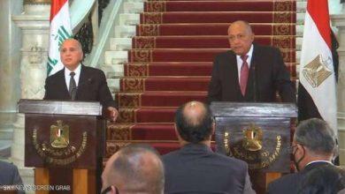 مصر: التحديات التي تواجه العراق مشتركة