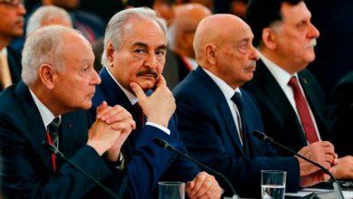 صورة السيسي: مساعي حل الأزمة الليبية تسير وفق مخرجات مؤتمر برلين وإعلان القاهرة