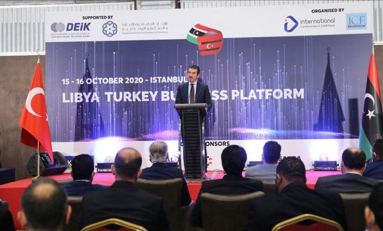 المنتدى الاقتصادي التركي الليبي