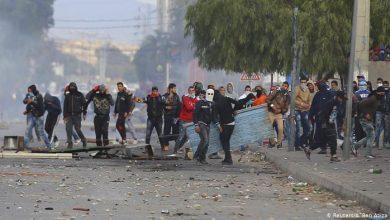 صورة تونس: مقتل مواطن يثير احتجاجات في محافظة القصرين