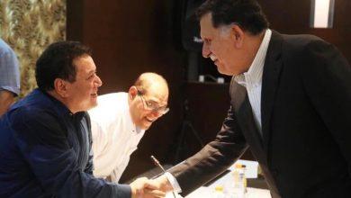 صورة اختطاف وزير إعلام السراج في ليبيا