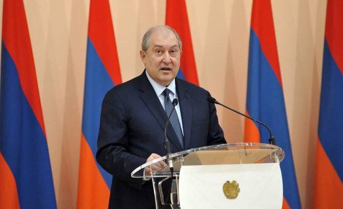 الرئيس الأرميني، أرمين سركيسيان
