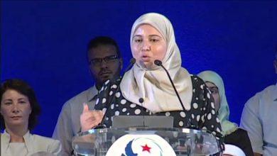 صورة قيادية إخونجية تعلن استقالتها من حركة النهضة في تونس