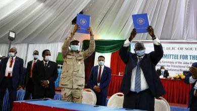 اتفاق تاريخي للسلام في السودان