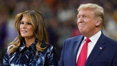 صورة فيروس كورونا يصيب ترامب وزوجته