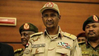 صورة حميدتي يؤكد رغبة السودان في إقامة علاقات مع إسرائيل