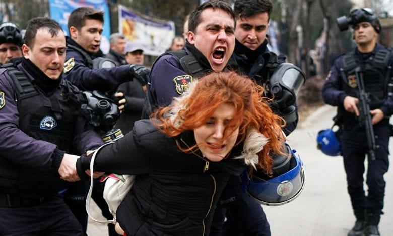 اعتقال قيادات حزب الشعوب