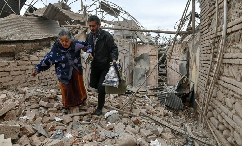 قصف على أذربيجان يوقع قتلى وجرحى