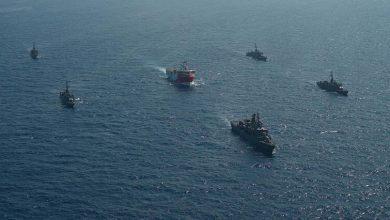 صورة اليونان تضع سفنها الحربية جنوب شرقي بحر إيجه في حالة التأهب