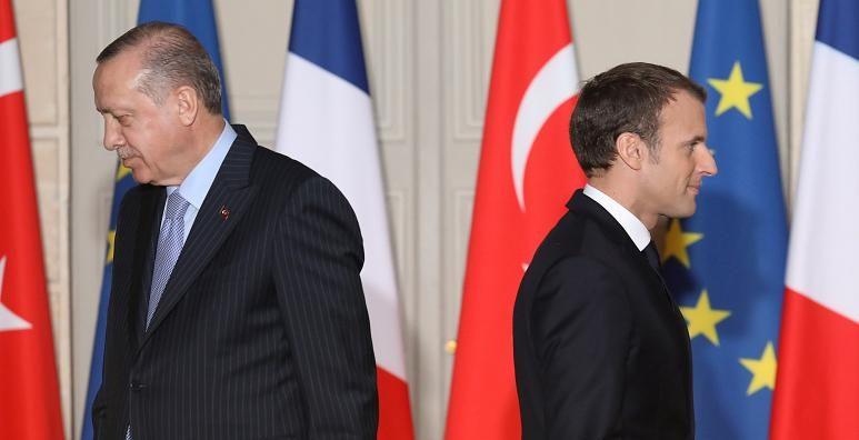 ماكرون يتهم أردوغان بإطلاق الأكاذيب
