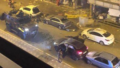 صورة تفجير انتحاري في تركيا