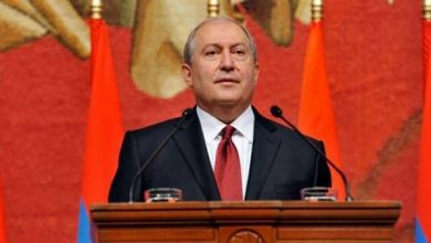 Photo of Armenian president Sarkissian accuses Turkey for attempting to Genocide in Karabakh