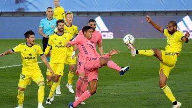 Photo de Le Real Madrid a perdu 1-0 contre Cadix