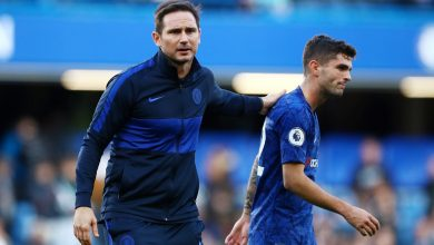 Photo of Chelsea boss Lampard dismisses 'anti-US Pulisic bias' after discussion with rival coach