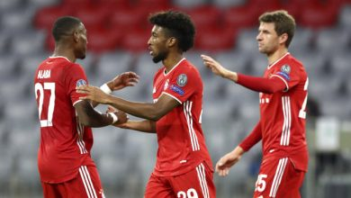 Photo of Coman strikes again as Bayern open title defense by routing Atletico