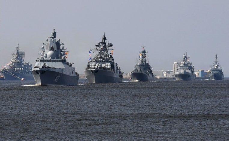 مناورات بحرية مصرية روسية البحر الأسود