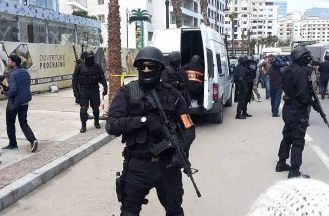 La police marocaine