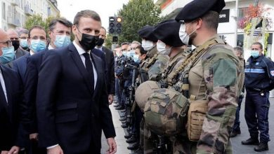 """Photo of Macron: """"France will not give in to terror"""""""