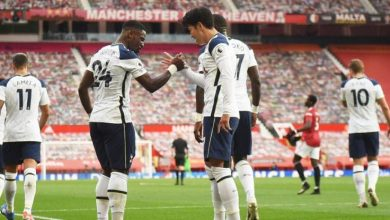 Photo de Tottenhama battu Manchester United 6-1