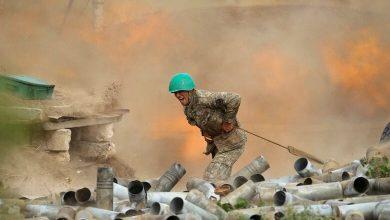 Photo de Le bombardement s'intensifie dans le Nagorny Karabakh
