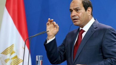"Photo of President Abdel Fattah El-Sisi: ""Egypt will never reconcile with those who want to destroy it,"""