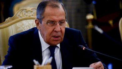 Photo de Sergueï Lavrov annonce un accord de cessez-le-feu dans le Haut-Karabakh