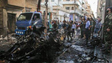 Photo de Un camion piégé a explosé dans le nord de la Syrie